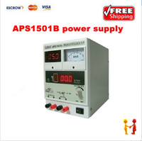 Wholesale ATTEN APS1501B DC power supply for communication test dual digital display mobile phone repairing power supply
