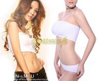 Wholesale Shear seamless bandeau bra Strapless sport one piece bra fashion soft women bustier