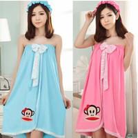 Wholesale new clothing for home pijamas pyjamas cute bathrobe dressing gown terry bathrobe for women