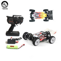 Wholesale 2014 NEW Scale Miniature RC Model Car Brushed Motor WD Electric Off road Buggy Kit Remote Control Toys Gift Yellow Black