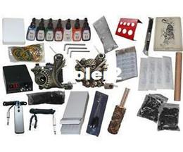 Wholesale USA Dispatch_NEW Professional Machines Tattoo KIT Machine GUN Equipment INK GUN SET US0042