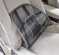 Wholesale New Massage Back Lumbar Support Mesh Support Cushion Pad For Car Office Home Seat Chair