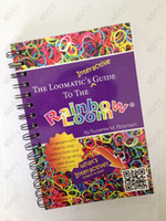 5-7 Years Multicolor Paper 2014 Hot ! Gifts&Toys Rainbow Loom The Loomatic's Interactive Guide To The Rainbow Loom 50 Designs With Step By Step Instructions 100pcs