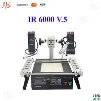 220V AC bga rework - IR6000 V bga soldering station Infrared heating as IR6500 bga welding machine bga rework station upgrade from IR6000