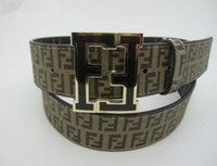 Wholesale Designer brand with classic alphabet belt unisex brand belt FL_52302