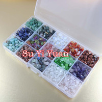Beads bead semiprecious - grams semiprecious stone accessories beads natural crystal gem gravel With box different kind