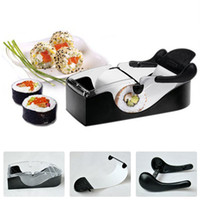 Stainless Steel Sushi Tools Yes 100% New with High Quality Easy Kitchen Perfect Magic Roll Sushi maker Cutter Roller Machine Gadgets sushi cooking tools #ZH046