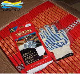 Wholesale DHL OVEN GLOVE OVE GLOVE As HOT SURFACE HANDLER AMAZING Home Golves Handler Oven Silicone Glove