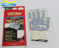 Wholesale 2015 OVEN GLOVE OVE GLOVE As HOT SURFACE HANDLER AMAZING Home golves handler Oven Silicone Glove DHL