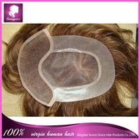 men hair toupee - Unprocessed straight Brazilian virgin natural human hair toupee for women men virgin human hair men s human hair toupee