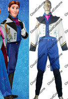 TV & Movie Costumes Unisex People Frozen Hans cosplay costume Hans cosplay outfit jacket holiday's day gift for men boys cosplayers