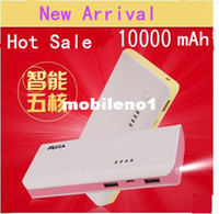 Universal For EU Emergency / Portable Wholesale-Core mobile power hight quality powe bank 10000 mah battery large capacity mobile phone charge treasure general wholesale cheap