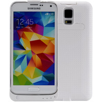 Wholesale 3600mAh External Backup Battery Charger Cover Case Power Bank Charger For Samsung Galaxy S5 i9600