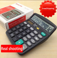 Wholesale Lashed c classic desktop calculator number battery solar calculator
