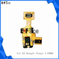 For LG New For LG Nexus 4 E960 Wholesale - L14069- Audio Jack Headphone Ear Jack Flex Proximity Flex 50 lot for LG Google Nexus 4 E960 Free DHL Shipping