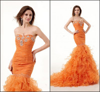 Cheap Reference Images 2014 Evening Dresses Best Sweetheart Organza More Order More Discount
