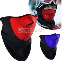 Wholesale Neoprene Snowboard Ski Cycling Face Mask Neck Warmer Bike Bicyle ski mask mixed colors By Eyetouch