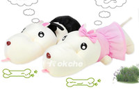 Wholesale yantu cm Children s toys dog car hangings plush toy doll rabbit cupsful belt wedding gift car toy