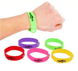 Wholesale 1000pc Mosquito Repellent Band Bracelets Anti Mosquito Pure Natural Baby Wristband Hand Ring Z200