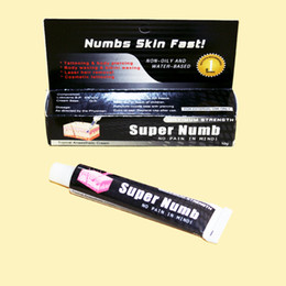 Wholesale Pro Tattoo Numb Anesthetic Tattoo Numbing Gel Cream For Tattoo Piercing amp Makeup Hot Supply