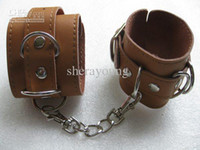 Wholesale - Adjustable Leather Sex Love Hand Cuff Chain Tie ...