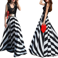 Cheap Casual Dresses Beach Dress Best U Neck Floor Length Chiffon Dress