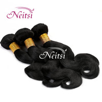 Wholesale 6A Brazilian Hair Weaves Body Wave quot quot Unprocessed Virgin Human Hair Extension Ponytail Ombre Hair Wavy Highlight Extension