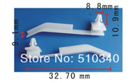 Gel 0 Fastener & Clip Free shipping 100pcs clip fender car holders for glasses car paper holder