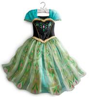2015 Hot Sale Elegant and Beautiful Dress Elsa Anna Summer D...