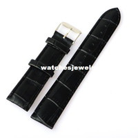 Wholesale New imitation PU leather watchbands waterproof MM MM MM Watch Accessories brown black watch band