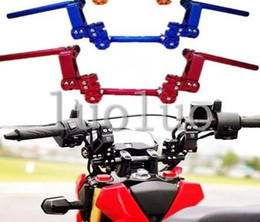 Wholesale new universal refitting motorcycle handlebar motorbike modification higher segregated handgrip for Yamaha Honda