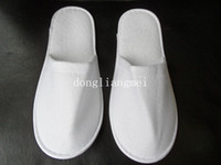 hotel slippers - 300pc pair one time slippers disposable shoe home white sandals hotel babouche travel Z198