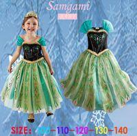 Elegant and Beautiful Elsa Anna Dress Summer Dress Girls Pri...