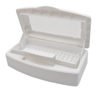 Nail Art Stamping Machine Nail Art Equipment Yes Wholesale-Free Shipping Professional Sterilizing Tray for sterilizing nail art tools,HB-SterilizingTray01-White sterilization box