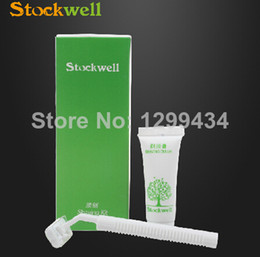 Wholesale The hotel disposable razors Double layer stainless steel blade white round handle With grams of shaving cream