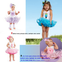 magic cube - HOT SALE New Fashion magic cube Girls ice creamThree dimensional flowers dresses baby Dress lotS7