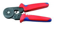 Wholesale WholesaleCable End sleeves Crimping Plier Self Adjusting Ratcheting Ferrule Crimper AWG24 HSC8