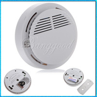 Smoke Alarm Fire  White Standalone Stable Photoelectric Chamber Wireless Security Alarm Smoke Detector for Fire Alarm System Sensor Home Bedroom