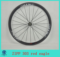 Wholesale 2014 ZIPP road bicycle wheel red egle marks carbon spoke bike wheels mm carbon clincher wheelset C carbon wheels road