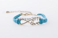 antique gold snake bracelet - GOLD Infinity love Wish Bracelet Antique Bronze Infinity Bracelet Wax Cords Bracelet Friendship Gift