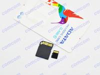 TF / Micro SD Card 128GB 100 ADATA 128GB Micro SD Card Class 10 128 gb adata Micro SDHC TF Memory Card Package for Samsung iphone 6 DHL 100pcs