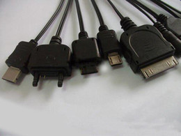 Free Shipping New Multi 10 in 1 Universal Multi-Function Cell Phone Game USB Charging Cable Charger