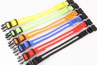 Wholesale 300Pcs led double faced pet led collar dog collar flashing dog collars dog pet dog belt TB005