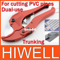 Wholesale WholesalePlastic pipe cutting pliers For cutting PVC pipes Diameter mm PVC pipe trunking dual purpose scissors407