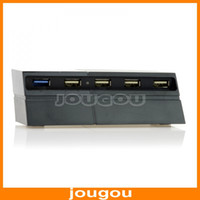 PS4 1419200001  High Speed 5 Port USB Hub 3.0 2.0 For Playstation 4 PS4 Black Free Shipping