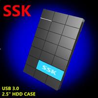 Wholesale 2 Inch SATA HDD CASE USB HDD Enclosure HD Externo Harddisk Drive Case Support TB Hard Disk External HDD Enclosure box