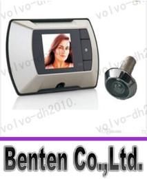 Бесплатная доставка беспроводной цифровой дверной глазок с высоким разрешением камеры 2,2 Монитор DIYLLFA6120