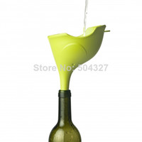 Wholesale Piece Qualy Creative Little Elephant Style Kitchen PE Funnel Ele Funnel