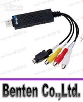 Wholesale USB EASYCAP VIDEO AUDIO TV DV AV VHS S VIDEO DV MAKER CAPTURE ADAPTER CALLFA6121