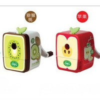 pencil sharpener - Candife stationery supplies hand cute pencil sharpeners mechanical fruit pencil sharpeners